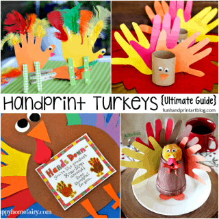 Ultimate Guide to Turkeys made with Handprints