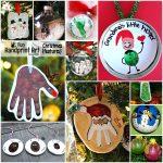 18 Memorable HANDmade Christmas Ornament Gift Ideas