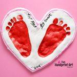 Super Sweet Valentine's Day Salt Dough Keepsake