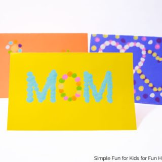 Fingerprint Cards for Mother's Day – 3 Templates Included!