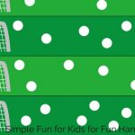 Fun Soccer Themed Fingerprint Counting Printable
