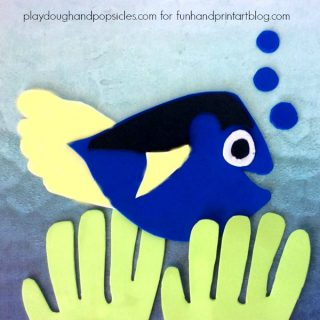 Finding Dory Foam Craft With Footprint Fins