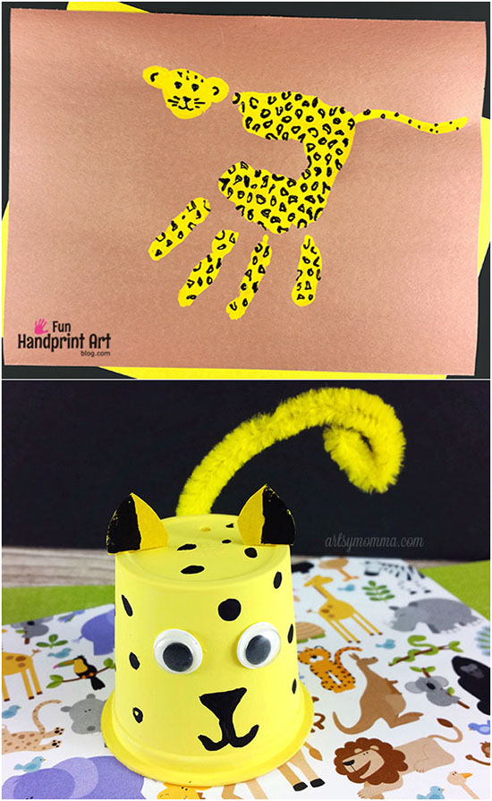Cutest Ever Cheetah Craft Ideas to Make with Kids
