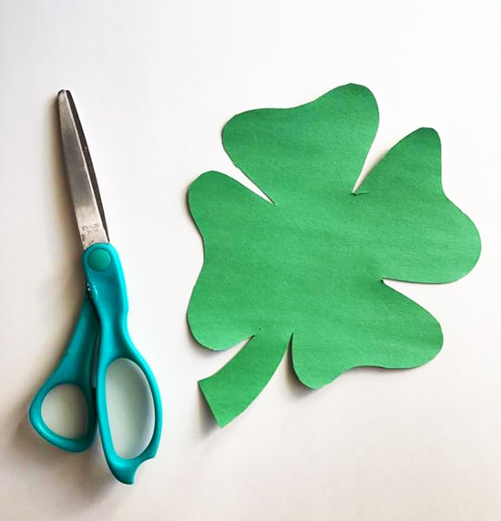 Fun Clover Painting Craft For Kids