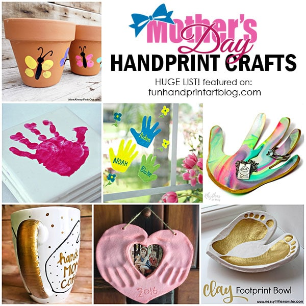 Hand Made Gifts from Kids for Mother's Day or Grandparent's Day