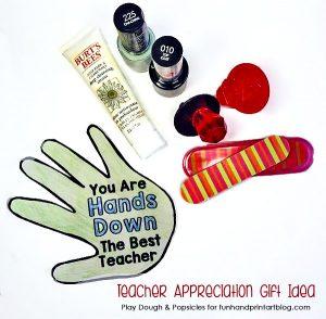 Manicure In A Jar Teacher Gift Idea
