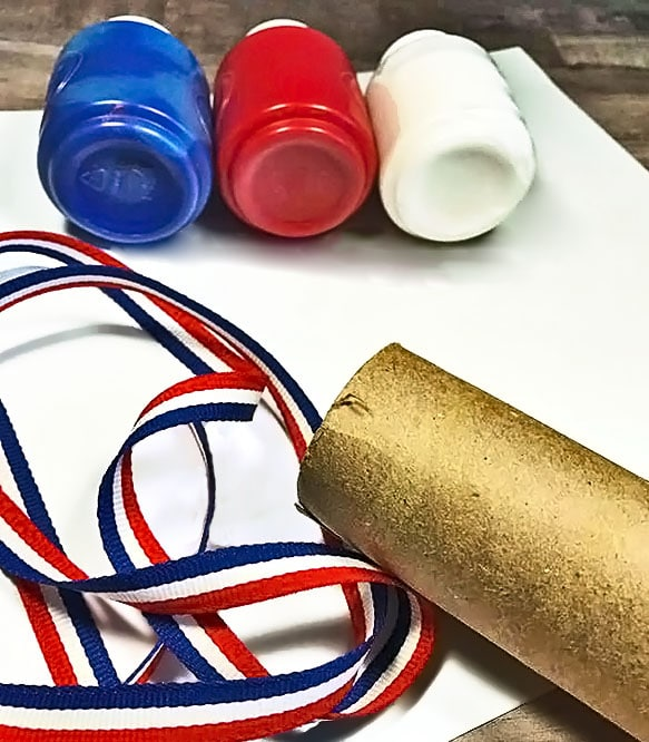 Kids Windsock Craft for Fourth of July or Memorial Day