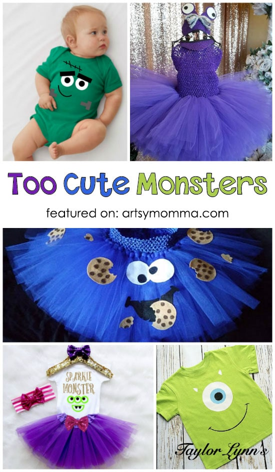 Cute Monster Tutus - Shirts - Onesies