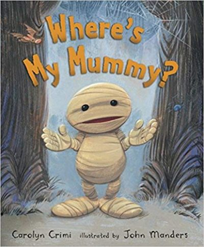 Where's My Mummy? Book + Footprint Mummy Craft Idea