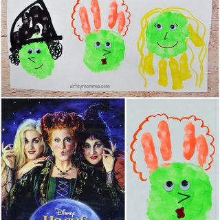 Fun Craft Inspired By The Halloween Movie Hocus Pocus