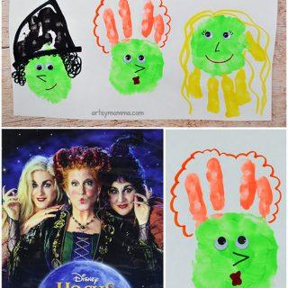 Fun Craft Inspired By The Halloween Movie Hocus Pocus