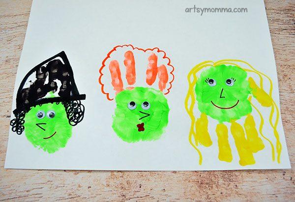 Hocus Pocus Inspired Craft For Kids