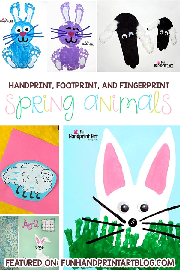 Animals In Spring Arts and Crafts for Kids