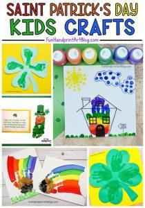 St Patrick's Day Handprint and Footprint Craft Ideas: Leprechauns, Clovers, and Rainbows