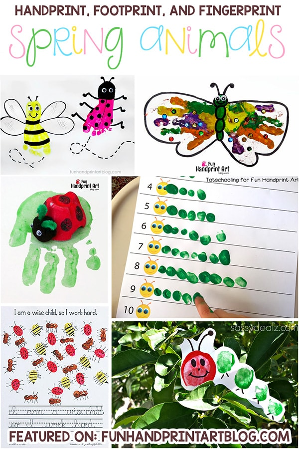 Spring Animal Crafts For Preschoolers To Make
