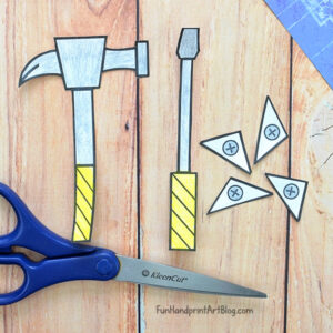 Paper Tools: Screwdriver & Hammer