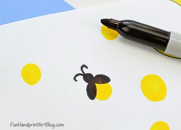 How to Make a Fingerprint Firefly Craft
