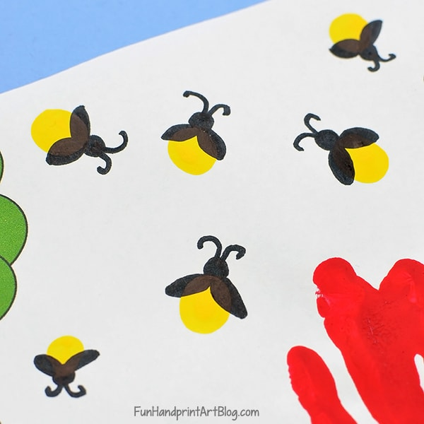 Printable Lightning Bug Craft for Kids