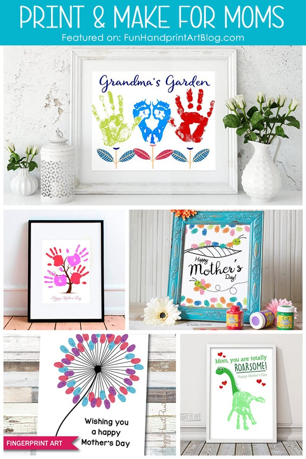 5 Print At Home Mother's Day Gifts