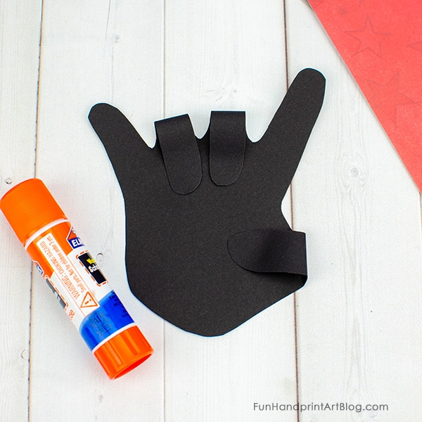 'Rock On' Paper Hand Craft