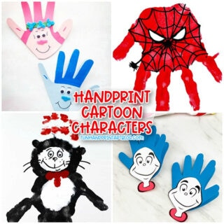 Character Crafts: Poppy & Branch, Spiderman, Cat in the Hat, Thing 1 & 2
