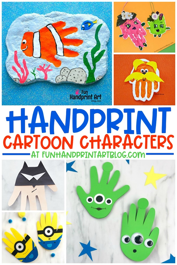 Cartoon Character Craft Ideas