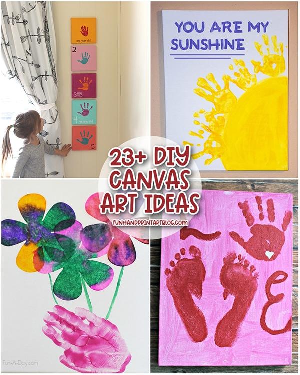 Kids Canvas Painting Ideas