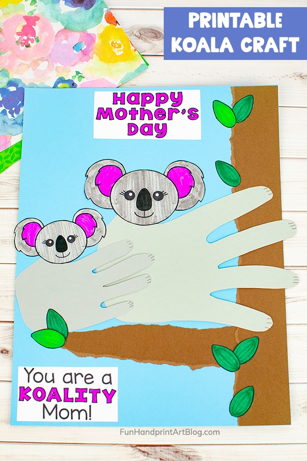 Printable Koala Paper Craft